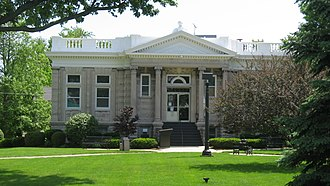 Union City, Indiana - The Union City Public Library is one of six sites in Union City listed on the National Register of Historic Places