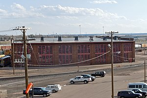 Wyoming Transportation Museum - Image: Union Pacific Roundhouse, Cheyenne, Wyoming
