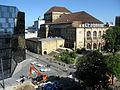 Universitätsbibliothek in Freiburg mit Theater vom Kollegiengebäude I 3.jpg