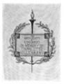 University of Cincinnati Hillebrand memorial bookplate.png