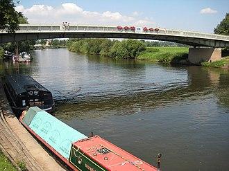 Upton-upon-Severn - The bridge at Upton-upon-Severn