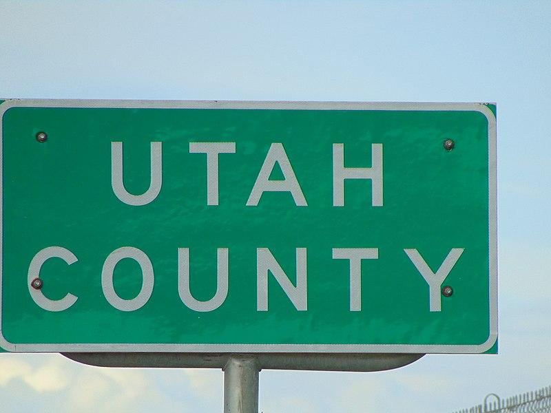 File:Utah County, Utah sign on US-6 at Eureka city limit, May 16.jpg