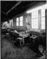 VIEW OF WORKBENCH - Bevin Brothers Bell Shops, Bevin Court, East Hampton, Middlesex County, CT HAER CONN,4-HAMPE,1-2.tif