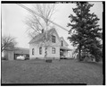 VIEW TO NORTHEAST. - Charles Bernke House, E9634 State Highway 29, Elderon, Marathon County, WI HABS WIS,37-ELD.V,1-2.tif