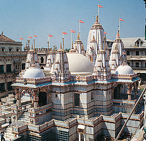 Shri Swaminarayan Mandir, Vadtal - The headquarters of the Shri Laxminarayan Dev Gaadi