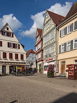 Marktplatz in Vaihingen an der Enz