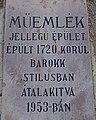 Vak Bottyán elementary school. Listed ID 17912. Sign. - Simontornya.JPG