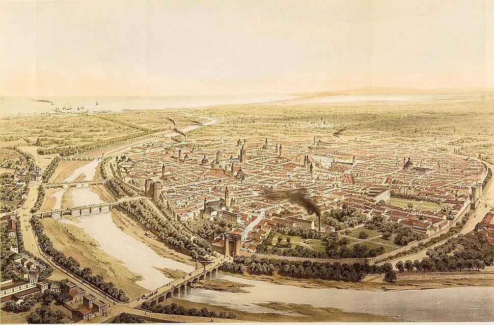 València el 1832, per A. Guesdon