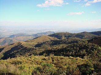 Paraíba Valley - View of the Paraíba Valley