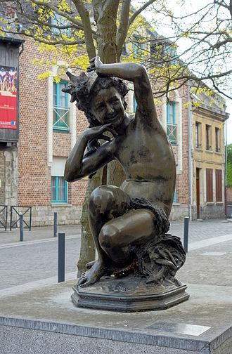 Jean-Baptiste Carpeaux - Image: Valenciennes carpeaux jeune fille coquille bis