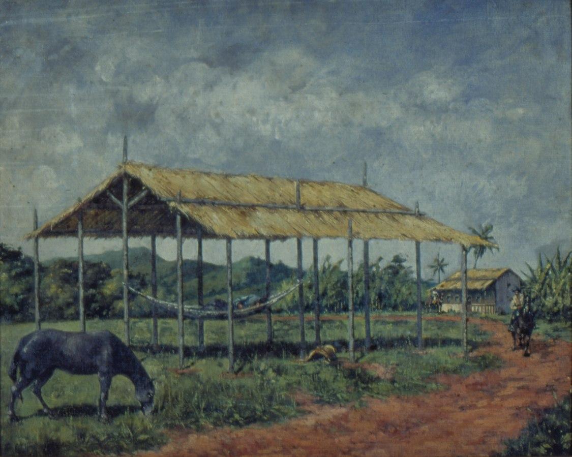 Rancho na Estrada de Sorocaba, 1830