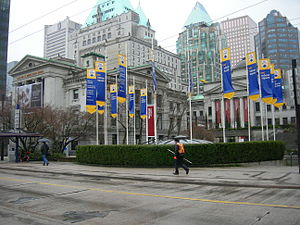 Vancouver Art Gallery, Robson Square, Vancouve...