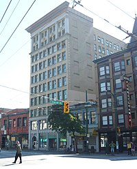 Vancouver Holden Building Tellier Tower 2011.jpg