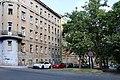 Varšavská street, Praha, small park.jpg