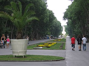 Varna Bulgaria garden