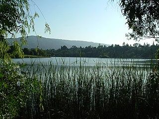 Vasona Reservoir reservoir in Los Gatos, California