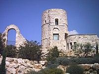 Vue du vieux Velaux restauré