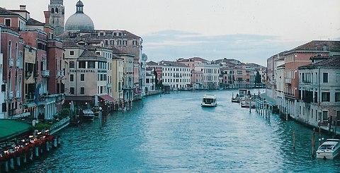Venice bridge grand canal