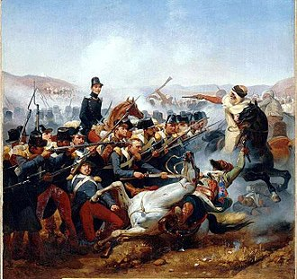 Algerian War - Battle of Somah in 1836
