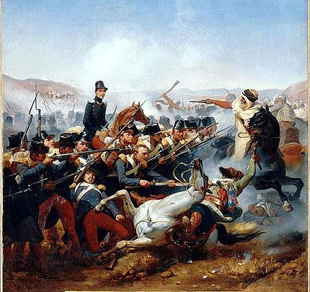Battle of Somah in 1836 Vernet-Combat de Somah.jpg