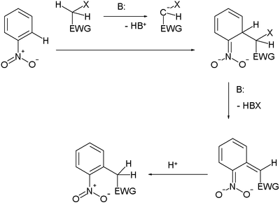 Nucleophilic Aromatic Substitution of Hydrogen
