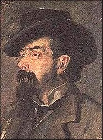 Francisco Tárrega - Portrait by Vicente Castell (1904)