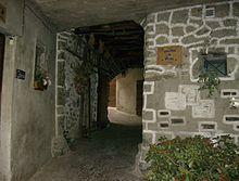 Centro storico, vicolo M. Monti