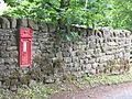 Victorian postbox in Stirton - geograph.org.uk - 1396748.jpg