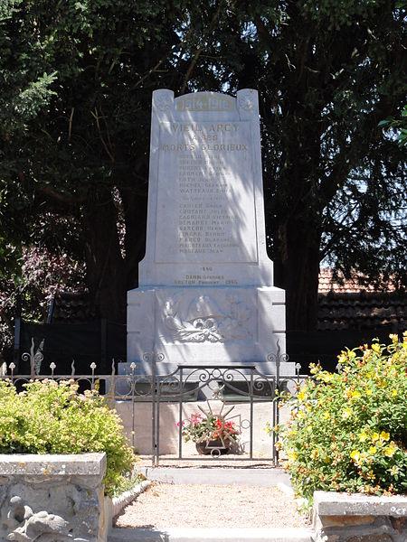Viel-Arcy (Aisne) monument aux morts