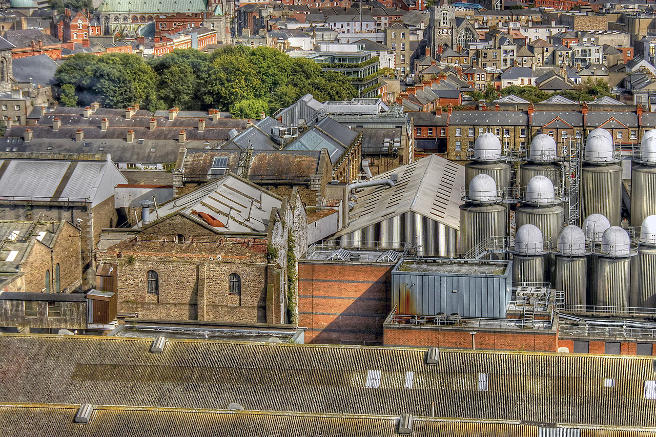 File:View from Gravity Bar at the top of Guinness ...