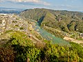View from Sarubami castle observation tower - 2.jpg