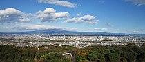 View from Takasaki Kannon northeast.jpg