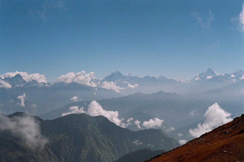 View from naola pass