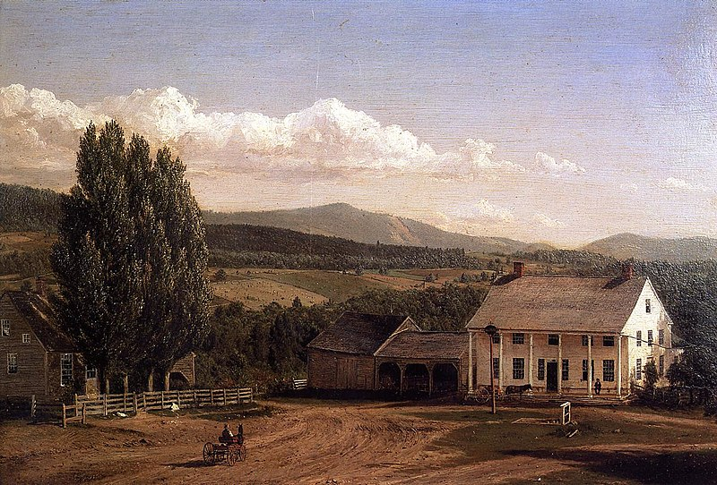 File:View in Pittsford, Vermont Frederic Edwin Church.jpg
