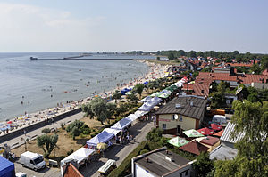 Hel, Poland - View of Hel