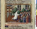 Vigiles de Charles VII, fol. 239, Exécution de Pierre de Montferrant.jpg