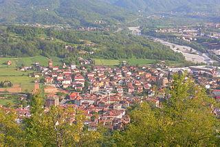 Vignole Borbera Comune in Piedmont, Italy