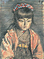 Village Daughter by Kishida Ryusei (Shimonoseki City Art Museum).jpg