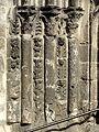 Villeneuve-sur-Verberie (60), église Saint-Barthélémy, portail latéral sud, colonnettes à gauche.jpg