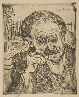 Paul Gachet - Image: Vincent van Gogh Man with a Pipe (Portrait of Dr. Paul Gachet)