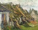 Vincent van Gogh - Rietgedekte zandstenen huisjes in Chaponval (1890).jpg