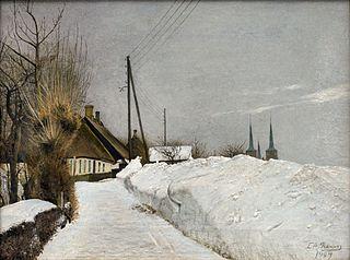 Vinterdag i Roskilde