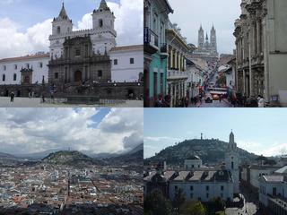 Centro histórico de Quito .
