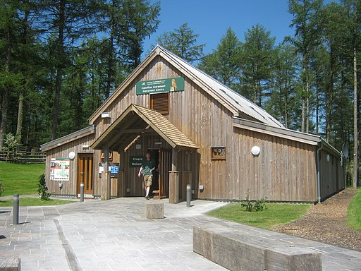 Visitor information building at Garwant Visitor Centre - geograph.org.uk - 3074747