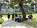 Visitors Rest in Court after Leave Hall 20140705.jpg