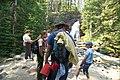 Visitors with a ranger at Baring Falls (4481464559).jpg