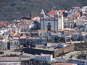 Castelo de Vide - A view of the church of Santa Maria da Devesa