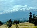 Vista del Iztaccíhuatl desde la autopista México-Puebla. 04.JPG