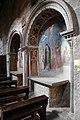Viterbo, santa maria nuova, interno, cappelle affrescate.jpg
