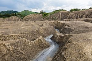 Berca Mud Volcanoes - Landscape in the surroundings